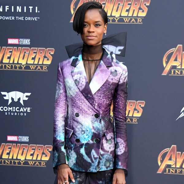 Letitia Wright, Avengers: Infinity War World Premiere